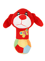 Wee Doggy (Red) Plush & Squeaky Dog Toy - Wee Doggy is part of the range of cute doggy toys. This toy has cuddly and colourful textures, with an added squeak to entertain your pet! This toy will provide hours of fun for your pup as he squeaks with every bite. These soft, cute and cuddly toys are designed for your dog to both snuggle with an...