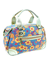 Blue Floral Carrier - Our Blue Floral Carrier has designer fabrics and trims which combine to create a chic carrier fit to show off your pet while complementing your wardrobe. This carrier is specifically designed to make your pet's journey as comfortable and as safe as possible. There is a mesh windows at one end of the...