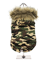 Forest Camouflage Fish Tail Parka - Our Forest Camouflage Fish Tail Parka pays homage to the guys and girls who made the parka popular, the Mods. Not only is it perfect for the dog that likes a bit of rough and tumble but it is also a quality piece of clothing that is  multi layered and will keep the heat in and the cold out come what...