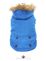 Cobalt Blue Alpine Coat - Protection and performance fuse in this Cobalt Blue Alpine Coat from Urban Pup. Lightweight but incredibly warm and snug to keep the cold out and the heat in. Combine that with a choice of three great colours, a perfect fit plus great quality and you have a coat that is second to none.The hood is tr...