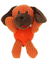 Litte Doggy Ball Toy - The body of our Litte Doggy Ball Toy is actually a hard rubber ball and is a great interactive toy for playing 'fetch'. He is quite robust and will stand up to a lot of chewing and biting. The rest of him is cuddly and colourful with an added squeak to entertain your pet! This toy will provide hours...