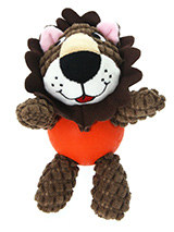 Simba Lion Ball Toy - The body of our Simba Lion Ball Toy is actually a hard rubber ball and is a great interactive toy for playing 'fetch'. He is quite robust and will stand up to a lot of chewing and biting. The rest of him is cuddly and colourful with an added squeak to entertain your pet! This toy will provide hours...
