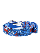 Hero Star Fabric Lead - Here at Urban Pup our design team understands that everyone likes a coordinated look. So we added a Hero Star Fabric Lead to match our Hero Star Harness, Bandana and collar. This lead is lightweight and incredibly strong.