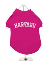Legally Blonde ''HARVARD'' Dog T-Shirt - If you want the authentic Legally Blonde look then this HARVARD t-shirt is the one for your four legged friend. With this beautiful design you can create your very own West End doggie star to be a part of this all singing, all dancing, feel good musical comedy. Match it up with our ladies t-shirt fo...