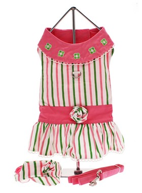 chloe coloured striped dress