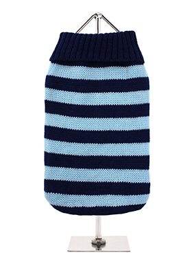 Oxford Blue Striped Sweater