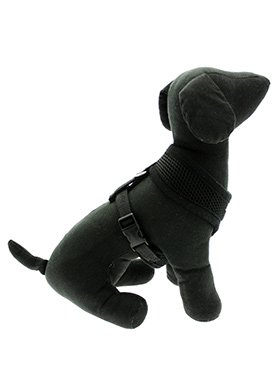 Jet Black Soft Harness