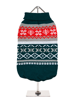 Green Fair Isle Vintage Sweater