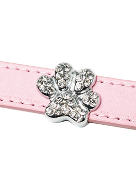 Crystal Paw 18mm Slider (for personalised collars)