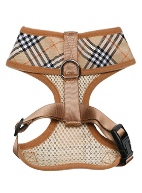 Brown Checked Tartan Harness