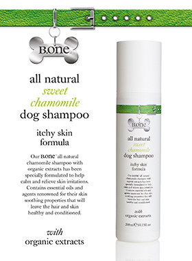 All Natural Sweet Chamomile Dog Shampoo (300ml)