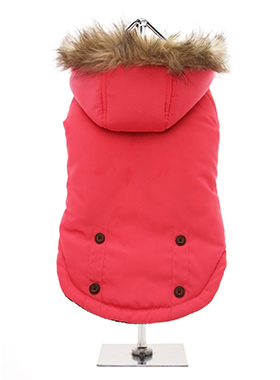 Salmon Pink Alpine Coat