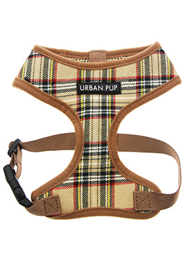 Brown Tartan Harness