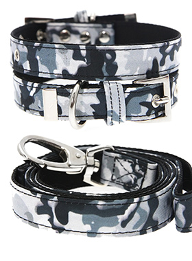 Urban Camouflage Collar & Lead Set