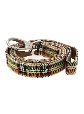 Brown Tartan Lead