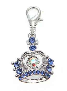 Czarina Crown Dog Collar Charm