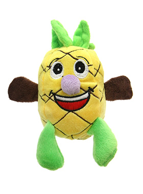 Polly Pineapple Dog Toy