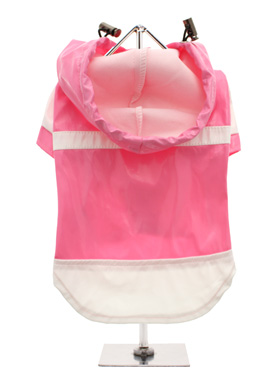 Candy Pink Raincoat
