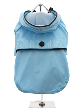 Duck Egg Blue Raincoat