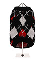 Red & Black Argyle Sweater