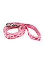 Pink Hearts Fabric Lead