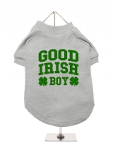 ''St. Patrick: Good Irish Boy'' Dog T-Shirt
