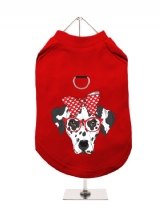 ''Humanimals: Adorable Dalmation'' Harness-Lined Dog T-Shirt