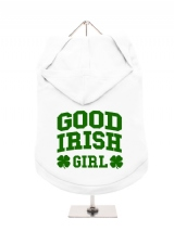 ''St. Patrick: Good Irish Girl'' Dog Hoodie / T-Shirts