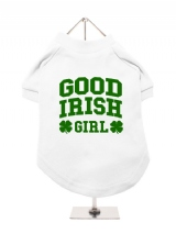 ''St. Patrick: Good Irish Girl'' Dog T-Shirt