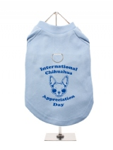 ''Chihuahua Appreciation Day'' Harness-Lined Dog T-Shirt