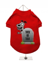 ''Halloween: Tombstone Trick or Treat'' Dog T-Shirt