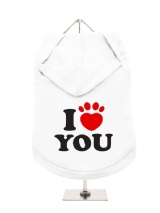 ''I Love You'' Dog Hoodie / T-Shirts