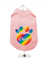 ''Pride'' Harness-Lined Dog T-Shirt
