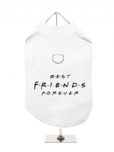 ''Best Friends Forever'' Harness-Lined Dog T-Shirt