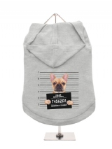 ''Police Mugshot - French Bulldog'' Dog Hoodie / T-Shirts