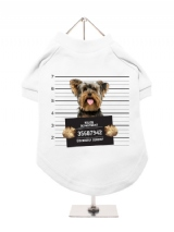 ''Police Mugshot - Yorkshire Terrier'' Dog T-Shirt