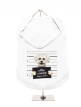 ''Police Mugshot - Bichon Friese'' Dog Hoodie / T-Shirts