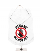 ''Please Do Not Pet'' Dog Hoodie / T-Shirts