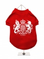 ''British Coat of Arms'' Dog T-Shirt