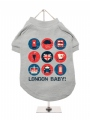 ''London Baby'' Dog T-Shirt