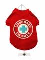''Lifeguard On Duty'' Dog T-Shirt