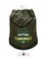 ''Military Armed Forces'' Dog Hoodie