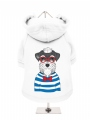 ''Humanimals: Sailing Schnauzer'' Dog Sweatshirt