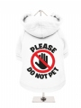 ''Please Do Not Pet'' Dog Sweatshirt