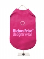 ''Bichon Frise Designer Wear'' Harness T-Shirt