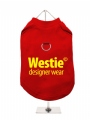 ''Westie Designer Wear'' Harness T-Shirt