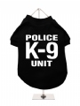 ''Police K-9 Unit'' Dog T-Shirt